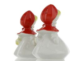 "Hull Little Red Riding Hood 5"" Salt and Pepper Range Shaker Set AAA image 6"