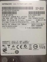 Hitachi Deskstar 7K1000.C HDS721025CLA382 250GB SATA/300 7200RPM 8MB Har... - $24.70
