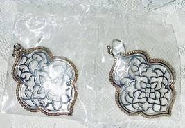 """Avon Sienna Filigree Earrings - Pierced - Hook - 1 3/4"""" Dangle - New in ... - $12.19"""