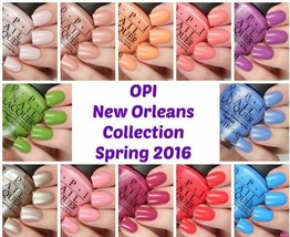 OPI Spring Summer '16 ~NEW ORLEANS~ Nail Polish Lacquer .5oz **PICK COLO... - $6.43+