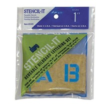 "Duro by Graphic Products Stencil-It Oil Board Stencil Set, 1"" - $6.64"