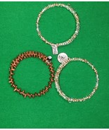 SET of 3 Hand Crafted Copper Tree of Life  Nisshu Memory Wire Wrap Brace... - £15.82 GBP