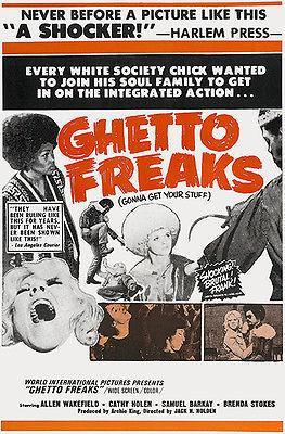 Primary image for Ghetto Freaks - 1970 - Movie Poster