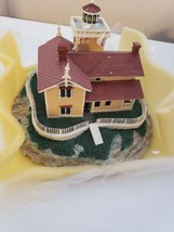 """The Danbury Mint """"East Brother Light Station"""" Authentic Lighthouse Sculpture - $28.05"""