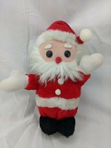 "Dakin Santa Claus Plush Doll 9"" Nutshells 1980 Stuffed Animal Toy - $24.95"