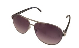 Timberland Men Sunglass Brushed Silver Metal Aviator, Smoke Lens TB7151 8A - $17.99