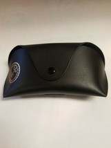 Ray Ban Brand leather hard case only Black - $12.99