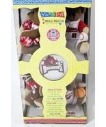 Arkansas Razorbacks Baby Crib Musical bears Mobile 2003 Bryce n Toys car... - $24.77
