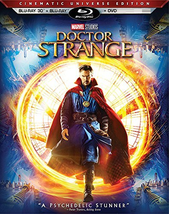 Doctor Strange (Blu-Ray + 3D + DVD Collectors Blu-ray, 2017)