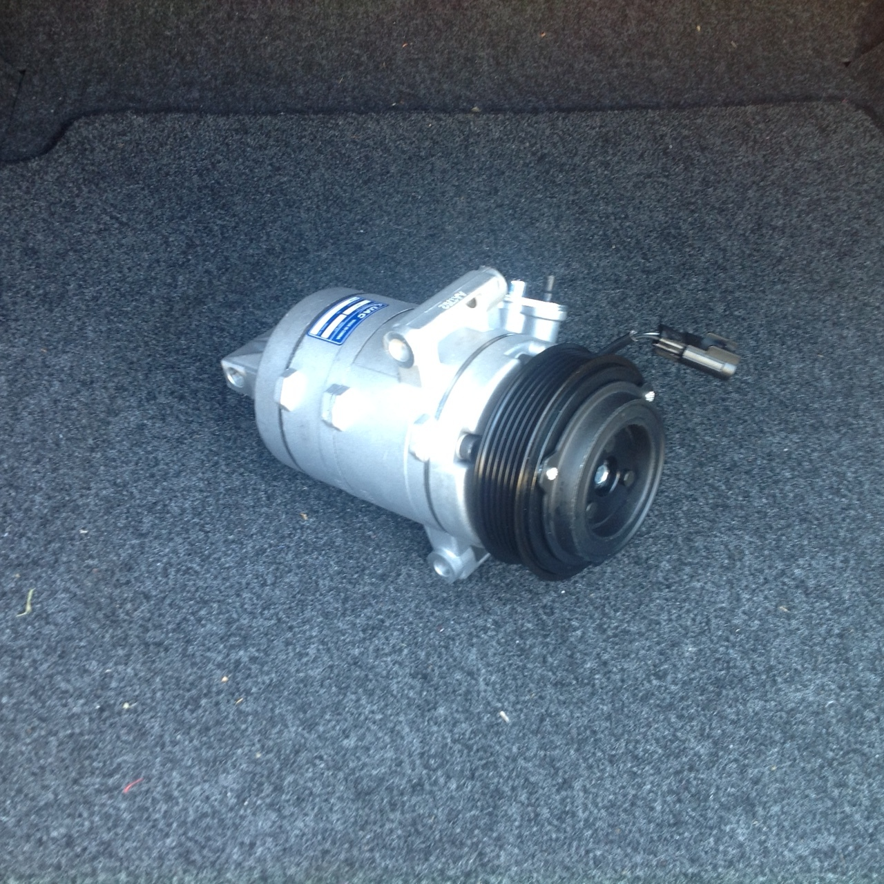 07 12 lincoln mkz ford fusion 3.5 ac air conditioning compressor with clutch  2