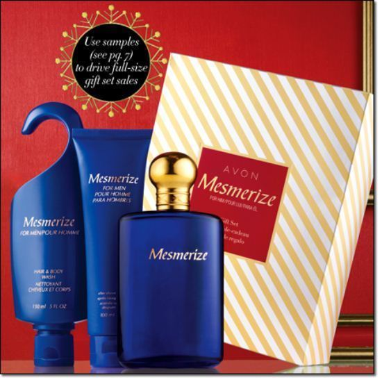 Mesmerize - Men's 3 pc Giftset - Cologne Spray, After Shave, Hair and Body Wash