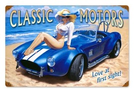 Classic Motors Metal Sign ( Greg Hildebrandt ) - $29.95