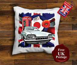 Ford Consul Cushion Cover, Ford Consul Cushion, Union Jack, Target, Mod, - $9.07+