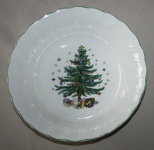 "Nikko Happy Holidays 9.5"" Vegetable Serving Bowl Japan - $17.77"