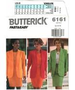 Butterick #6161 Misses' / Misses' Petite  Jacket Top & Skirt Pattern 18-... - $8.47