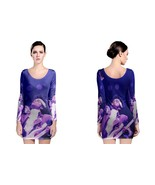 Prince And The Purple Rain Women's Long Sleeve Bodycon Dress - $25.80+