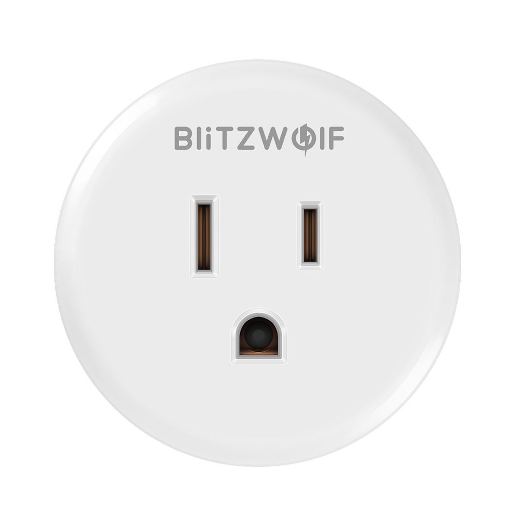 BlitzWolf BW-SHP1 WIFI Smart Socket Work with Alexa Google Assistant Remote Cont