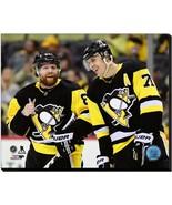 Evgeni Malkin & Phil Kessel 2018 Pittsburgh Penguins- 16x20 Photo on Canvas - $94.95