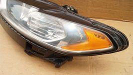 13-16 Ford Fusion Halogen Headlight Head Light Lamp Driver Left Side LH image 4