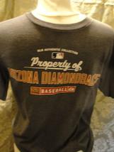 MLB Arizona Diamondbacks short sleeve gray T-shirt size Small. Made by Majestic. - $14.20