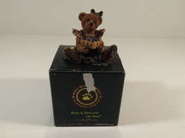 1994 Boyds Bears & Friends Balley The Baker With Sweetie Pie 1st Edition W/Box - $19.99