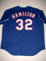 Josh Hamilton #32 Texas Rangers MLB AL West Blue Red White Baseball Jers... - $59.39