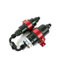 Two in One Electric Fuel Pump and Inline Filter Kit With Mounting Bracket image 2