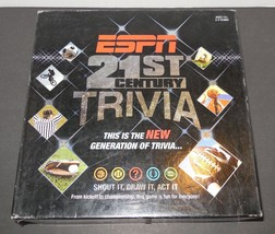 ESPN 21st Century Trivia by USAopoly Sports Trivia Game Team Play - $23.38