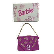 Mattel Avon Vintage 1996 Barbie Purse With Lip Gloss Cosmetics New In Box - $13.96
