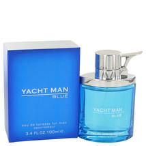Yacht Man Blue by Myrurgia Eau De Toilette  3.4 oz, Men - $12.72