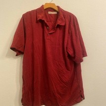 Tommy Bahama Red Polo Shirt - $143.55