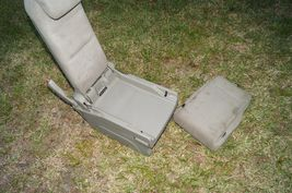 05-10 Honda Odyssey Plus One Center Middle Jump Seat FABRIC / CLOTH - Olive image 10