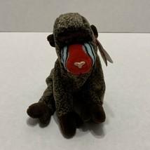 Ty Beanie Babies CHEEKS the Baboon Monkey  5/18/99  - $5.93