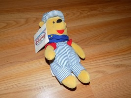 Disney Store Choo Choo Winnie the Pooh Bean Bag Plush Train Engineer wit... - $15.00
