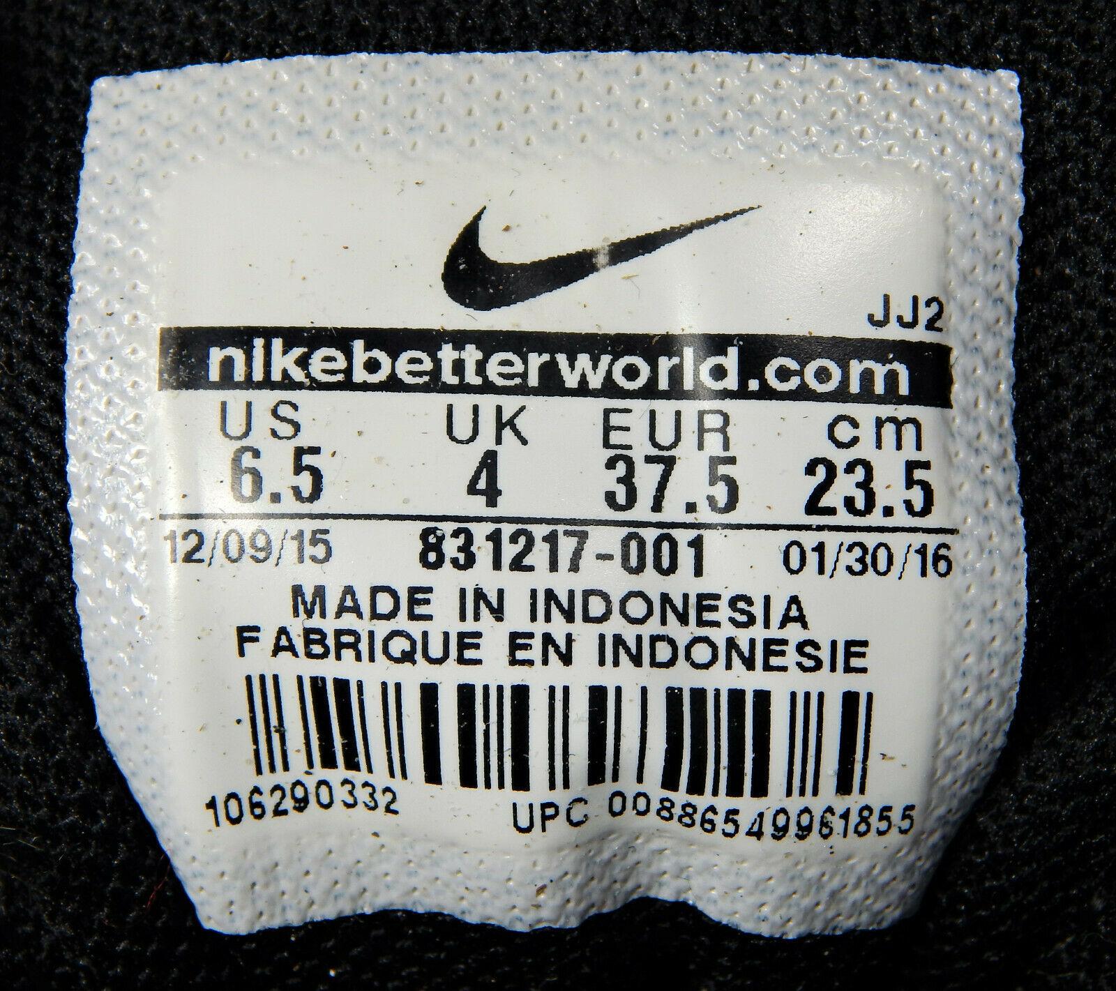 Nike Flex TR 6 Training Shoes/Sneakers in Black Women's Size 6.5 831217-001