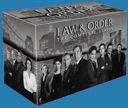 Law and Order The Compete Series DVD Seasons 1-20  - $129.00