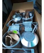 "NEW LOT of 4 Lightolier Convertible Frame-In Kit 6.75"" Housing Nail Inca... - $129.99"