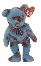 "TY Beanie Babies Union 8"" Plush Flag Nose American Flags B148 - $19.79"