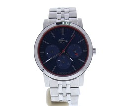 Lacoste Men's 'Metro' Quartz Stainless Steel Watch, Color:Silver-Toned (Model: 2 - $229.07