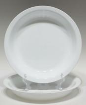 "2 CORELLE CORNING WARE P-309  9"" Pie Plate Plates - Frost White - Near M... - $17.10"
