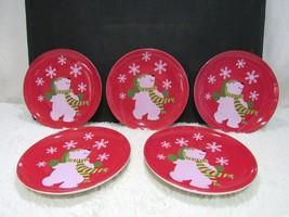 Lot of Five Avon Porcelain Decorative Salad/Dessert Plates, Collectible  - $21.95