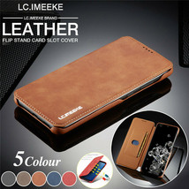 K69) Leather Wallet Flip Magnetic Back Cover Case For Samsung Galaxy - $61.86