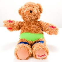 "Aurora Rufus the Bear JDRF Diabetes Plush 14"" Teddy Colorful Stuffed Ani... - $17.68"