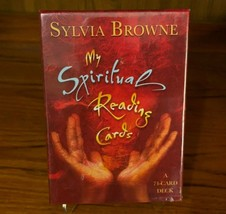 My Spiritual Reading Cards Sylvia Browne 74 Card Deck RARE Out of Print NEW - $199.99