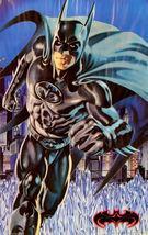 "1997 BATMAN & ROBIN Movie BATMAN GLOW IN THE DARK POSTER 23x34.5"" 30-005 2 - $22.99"