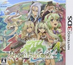 USED 3ds Rune Factory 4 from Japan Free Shipping - $24.33
