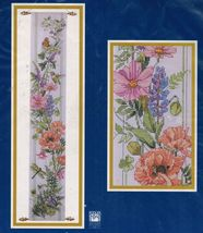 Bucilla Flowers Birds & Butterflies Bell Pull Counted Cross Stitch Kit 4... - $17.99