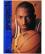 1996-97 KOBE BRYANT SP PREMIER PROSPECTS #134 VERY RARE ROOKIE CARD RC M... - $99.00