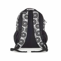 Brand New Studio C Hello Dahlia Black & White Floral Backpack 51251292 image 2