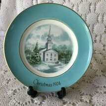 Enoch Wedgewood Avon Country Church Second Edition Porcelain Plate 1974 - $11.63